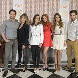 Protagonistas del serial 'Seis hermanas' de Bambú