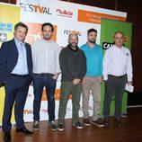 Presentación de 'Cómicos' en el FesTVal de Murcia 2015