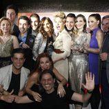 Foto de familia en los Premios Studio 54