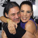 Dioni y Alicia Senovilla en los Premios Studio 54