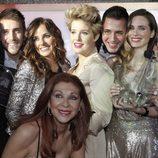 Galardonadors en los Premios Studio 54