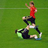 Fernando Torres impresiona a los aficionados en la Eurocopa