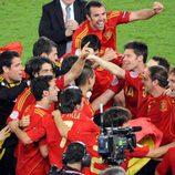 La Selección Española es Campeona de Europa 2008
