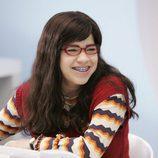 La actriz America Ferrera, feliz en 'Ugly Betty'