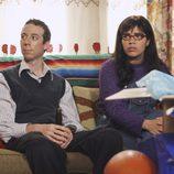 Cuatro cenas de acción de gracias y un funeral en la serie 'Betty'