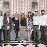 Protagonistas del serial 'Acacias 38' de Boomerang TV