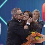 Aguasantas y Jordi en la final de 'GH VIP 3'
