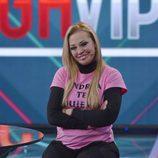 Belén esteban contenta en la final de 'GH VIP 3'
