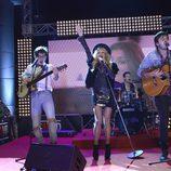 Paulina Rubio canta en la final de 'GH VIP 3'