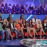 Los concursantes en el plató en la final de 'GH VIP 3'