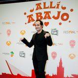 Alfonso Sánchez en la presentación de 'Allí abajo'