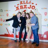 Reparto de 'Allí abajo' en el FesTVal de Murcia 2015