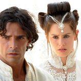 Marco Bocci y Vanessa Hessler en 'Las mil y una noches'