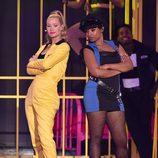 Iggy Azalea y Jennifer Hudson en los Nickelodeon Kids' Choice Awards 2015