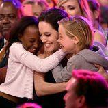 Angelina Jolie en los premios Nickelodeon's 28th Annual Kids' Choice Awards