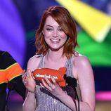 Emma Stone en los Nickelodeon's 28th Annual Kids' Choice Awards