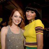 Emma Stone y Zendaya en los Nickelodeon's 28th Annual Kids' Choice Awards