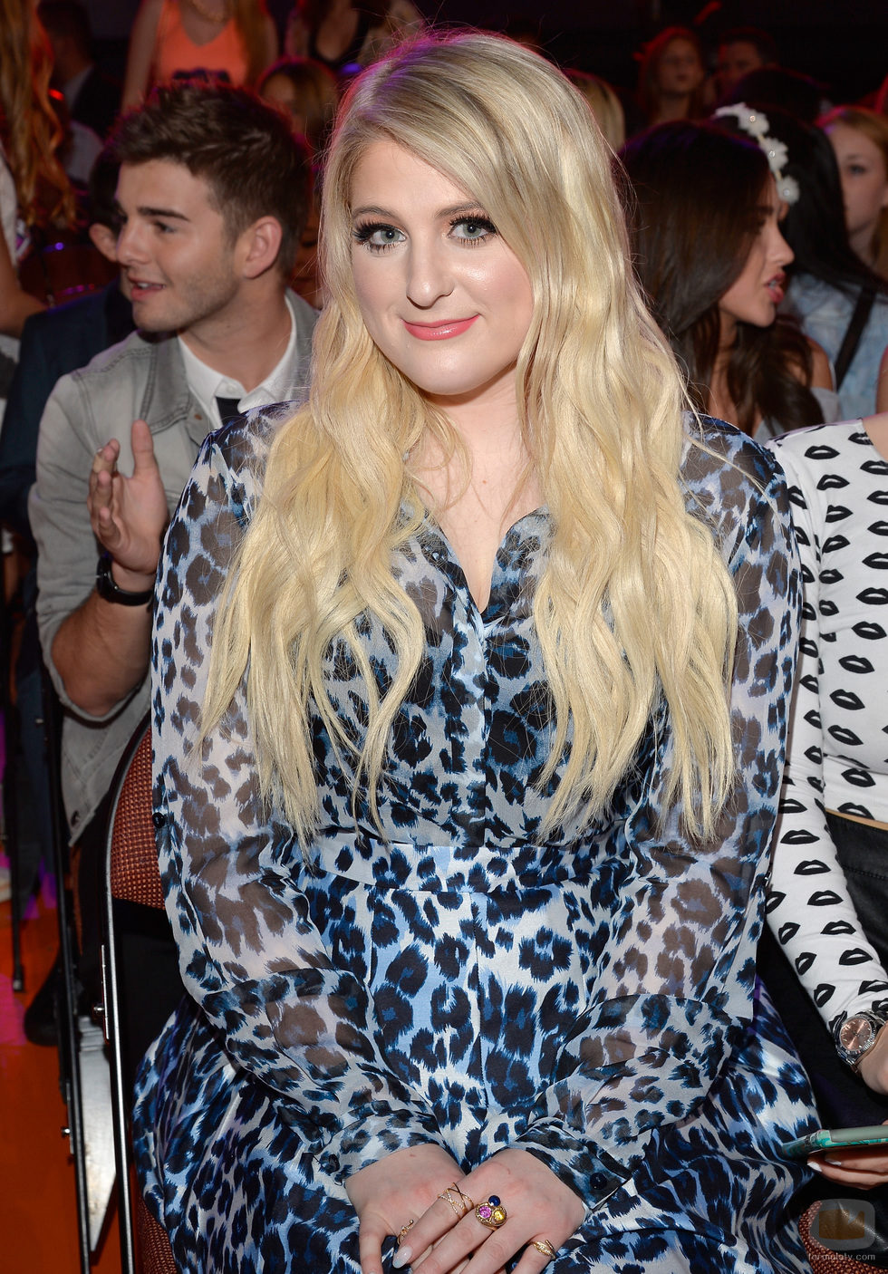 Meghan Trainor en los Nickelodeon's 28th Annual Kids' Choice Awards