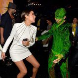 Olivia Culpo y Nick Jonas en los Nickelodeon's 28th Annual Kids' Choice Awards