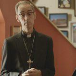 César Sarachu, Antonio Molero y Antonio Resines en el segundo episodio de 'Aquí Paz y después Gloria'