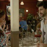 Melany y Fermín en el tercer episodio de 'Aquí Paz y después Gloria'