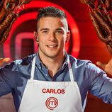 Carlos, concursante de la tercera temporada de 'Masterchef'