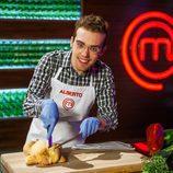 Alberto, concursante de la tercera temporada de 'Masterchef'