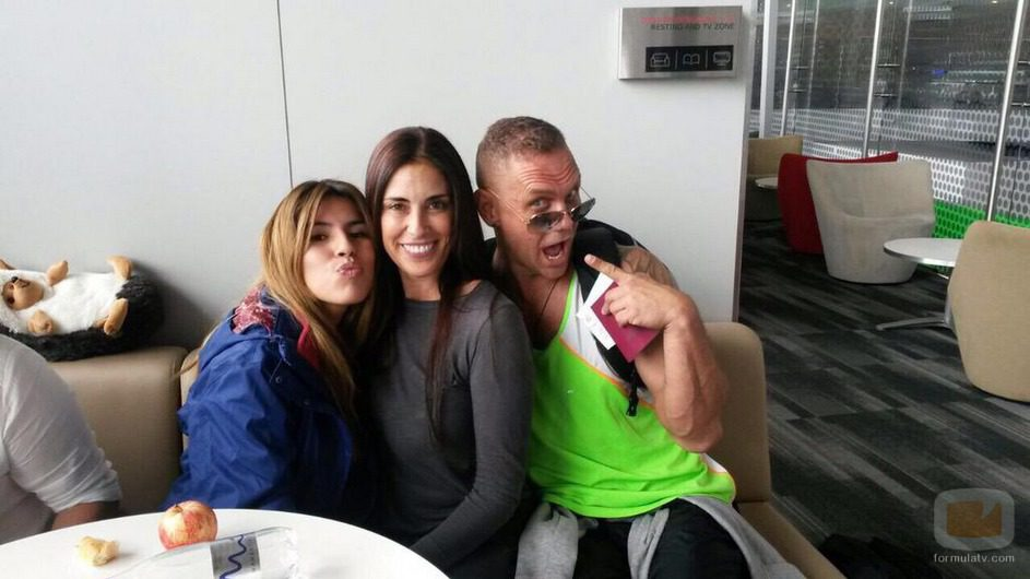Chabelita Pantoja, Isabel Rábago y Nacho Vidal