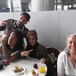 Rasel, Fortu, Suhaila Jad y Carmen Gahona
