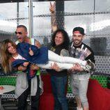 Chabelita Pantoja levantada por Nacho Vidal, Fortu y Rasel