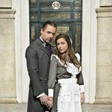 Roger Berruezo y Sheyla Fariña