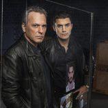 Jose Coronado y Alex González en la segunda temporada de 'El Príncipe'