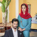 Stany Coppet y Hiba Abouk en la segunda temporada de 'El Príncipe'