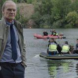 El comisario casas en el segundo episodio de 'Bajo sospecha'