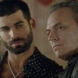 Ruben Cortada y Jose Coronado en el primer capítulo de la segunda temporada de 'El Príncipe'