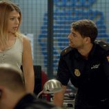 Imagen en la comisaría de 'El Príncipe' en el primer capítulo de la segunda temporada