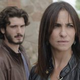 Víctor e Inés en el quinto episodio de 'Bajo sospecha'