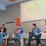 Alberto Chicote preparado para la rueda de prensa de la cuarta entrega de 'Pesadilla en la cocina'