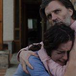 Begoña y Andrés en el sexto episodio de 'Bajo sospecha'