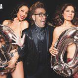 Azúcar Moreno se desnudan con Torito para celebrar el aniversario de Primera línea