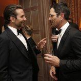Ty Burrell y Bradley Cooper durante la Cena de Corresponsales de la Casa Blanca