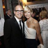 Michael Kelly y su mujer durante la Cena de Corresponsales de la Casa Blanca