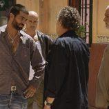 Ruben Cortada ante Jose Coronado en el tercer capítulo de la segunda temporada de 'El Príncipe'
