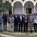 El elenco de 'Carlos, Rey Emperador' graba en la Alhambra de Granada sus primeras escenas