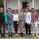 La Alhambra de Granada abre sus puertas al rodaje de 'Carlos, Rey Emperador'