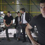 Morey en la comisaria en el cuarto capítulo de la segunda temporada de 'El Príncipe'