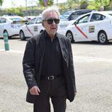 El actor José Sacristán acude al velatorio del periodista Jesús Hermida