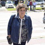 Cristina Almeida acude al velatorio de Jesús Hermida