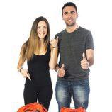 Ángel y Lorea, amigos blogueros
