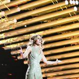 """Edurne cantando """"Amanecer"""" en el primer ensayo del 'Festival de Eurovisión 2015'"""